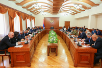 The first session of the republican commission on preparation and conduct of agricultural calculation