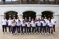 Госминистр всретился с тренерами и членами сборной команды Арцаха по футболу, участвующими в чемпионате Европы, под эгидой Конфедерации независимых футбольных ассоциаций (ConIFA)