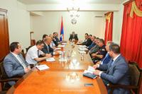 Государственный министр провел совещание, посвященное организационным работам 7-ых Всеармянских летних игр