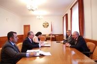 Встреча с министром иностранных дел Республики Армения Зограбом Мнацаканяном