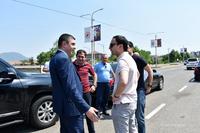 Государственный министр встретил делегацию, возглавляемую вице - премьером Республики Армения Тиграном Авиняном