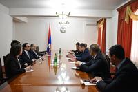 Григорий Мартиросян и Тигран Авинян определили  дальнейшие шаги сотрудничества