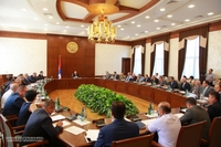 President Sahakyan chaired the Government's meeting