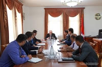 Consultation with the participation of the heads of the regional administrations