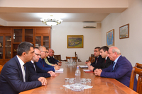 Meeting with the Public Services Regulating Commission of the RA