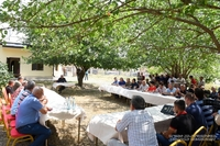 Посещение села Талиш