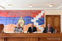 President Sahakyan partook at the reporting meeting of the Artsakh Republic Police Board