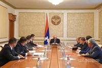 Совещание, посвященное реализации ряда мероприятий по организации 7-ых Всеармянских летних игр
