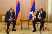 Состоялась встреча Президента Республики Арцах и Премьер-министра Республики Армения
