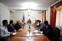 Заседание, посвященное 28-ой годовщине провозглашения Республики Арцах