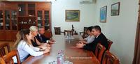 Պետական նախարարն ընդունել է Հայաստանի ամերիկյան համալսարանի պատվիրակությանը