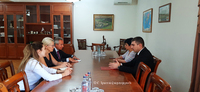 The State Minister received the AUA delegation
