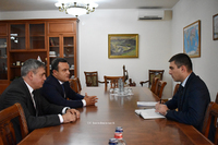 On the agenda is a new program of food organization in military units