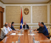 Consultation on the recent water supply issues in Stepanakert