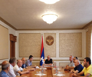 Consultation on water supply issues in Stepanakert