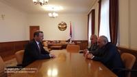Встреча с секретарем Совета безопасности РА Арменом Григоряном