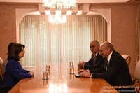 Встреча с министром труда и социальных вопросов Республики Армения
