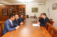 Государственный министр принял делегацию комиссии по телевидению и радио  Республики Армения