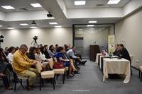ԱՀ պետական նախարարը հանդիպել է «Հայոց պետականության անցյալը, ներկան ու ապագան» միջազգային երիտասարդական 4-րդ գիտաժողովի մի խումբ մասնակիցների հետ