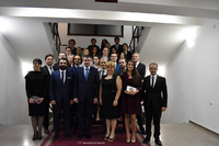 """Artsakh Republic State Minister hosted the creative team of the film """"Gate to Heaven"""" by Jivan Avetisyan"""