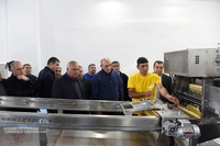 Visit to the honey processing and packaging plant in the Vank village
