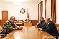 Meeting with Armenian minister for the emergency situations Felix Tsolakyan