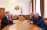 Встреча с секретарем Совета безопасности Республики Армения Арменом Григоряном