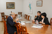 The State Minister received the Chairman of the RA Statistical Committee