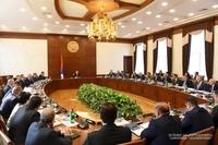Կառավարության նիստ Արցախի Հանրապետության Նախագահի նախագահությամբ