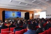 Совещание с участием ответственных сотрудников Аскеранской райадминистрации и глав общин района