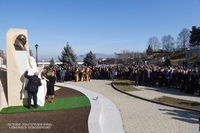 Solemn ceremony of opening the bust of philanthropist Levon Hayrapetyan