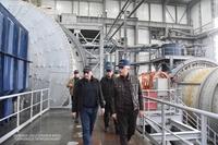 Посещение Кашенского горнорудного комплекса
