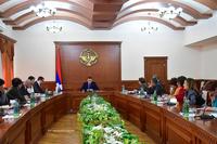 Состоялась итоговая пресс-конференция государственного министра