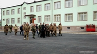 Visit to a number of military units