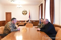 Meeting with head of the General Staff of the RA Armed Forces Artak Davtyan