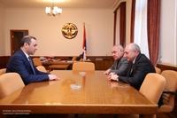 Հանդիպում ՀՀ Անվտանգության խորհրդի քարտուղար Արմեն Գրիգորյանի հետ