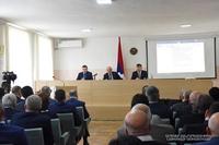 Working consultation in the Martouni regional center