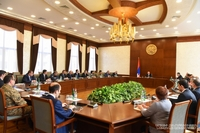 Bako Sahakyan chaired an enlarged meeting of the Interdepartmental Commission coordinating the prevention of the spread of the novel coronavirus