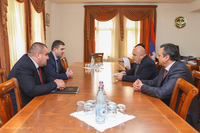 State Minister received the  delegation of Armenia's Television and Radio Commission