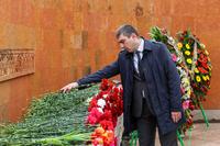 ԱՀ պետական նախարար Գրիգորի Մարտիրոսյանի ուղերձը Հայոց ցեղասպանության զոհերի հիշատակի օրվա կապակցությամբ