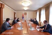 Նախագահ Արայիկ Հարությունյանն ընդունել է «Հայաստանի էլեկտրական ցանցեր» ՓԲԸ պատվիրակությանը