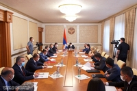 Consultation dedicated to the tightening of measures aimed at combating the novel coronavirus