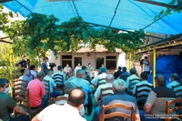 The irrigation water issue in Akna district will be solved within a short period of time. Arayik Harutyunyan convened with land users a consultation in field conditions