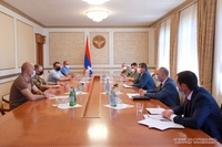 President Arayik Harutyunyan convened a working consultation on food supply to the Defense Army