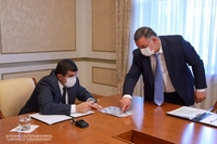 The President convened a consultation on new urban development programs to be realized in the capital