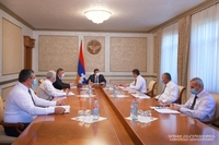 Issues facing the Martouni region were discussed at a meeting with the President