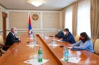 Правительство Арцаха протянет руку помощи армянам Ливана. Президент принял Каро Кебабджяна.