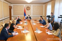 Arayik Harutyunyan convened a consultation on the issues of providing a disability category