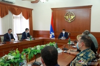 The duties of the Commandant will be exercised by the Artsakh Republic Minister of Territorial Administration and Development