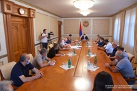 President Harutyunyan convened a working consultation with the participation of construction companies representatives